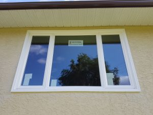 Double Casement Window Black Mountain Kelowna