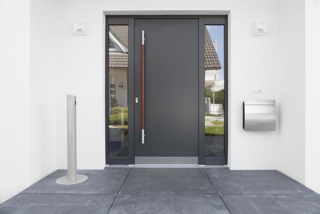 Aluminium Entry Door Installation in Kelowna