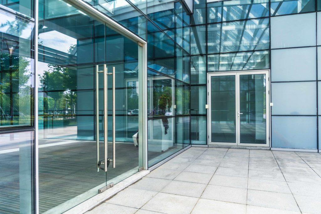 Glass Entry Door Installation in Kelowna