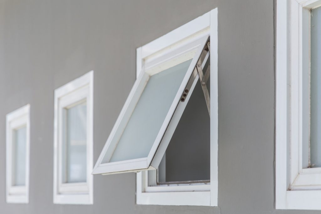 Awning window for home